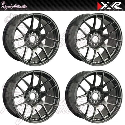 XXR 530 Concave Alloy Wheels 18x8.75 ET20 5x100 5x114.3 Chrome Black JDM Euro